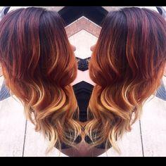 Always always alway obsessed with @tabitha.flint hair!!!  color by Ashton #hair #haircolor #hairstyle #balayagehighlight #ombre #balayageombre #brownhair #blondehair #redombre #firehair #splathairdesign #pravana #lifeofahairstylist #behindthechair #jaymcfly #beautylaunchpad #modernsalon #angelofcolour #olaplex #thebusinessofbalayage #americansalon @modernsalon @pravana @guy_tang @olaplex @splathair @modernsalon @behindthechair_com @thebusinessofbalayage @beautylaunchpad by splathair
