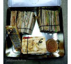 #365чай_фаранчук Все раздумывала, как все эти карточки оформить, в итоге получилась вот такая коробочка. Из-под чая, само собой 😊… Tea Bag Art