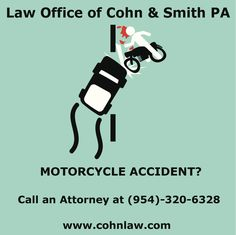 Motorcycle accident? Who is responsible?  Check out our blog or visit our site.
