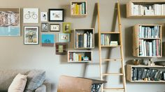 Think inside the box | Add floating shelves to a room to bolster an artful display or save precious space