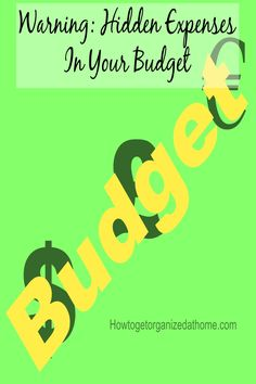 Finding hidden expenses in your budget can save you money each month, it is after all better for your money to work for you than big corporations.