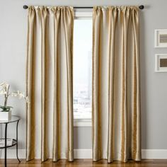 Cameron Rod Pocket Curtain Panel