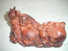 tượng di lặc gỗ sưa