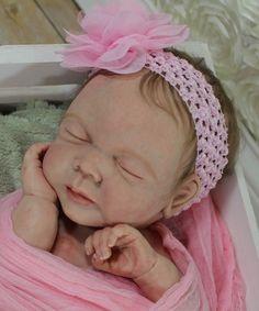 Reborn Full Body solid Silicone Baby Doll ~ Baby Girl Brooklynn LE 10/10
