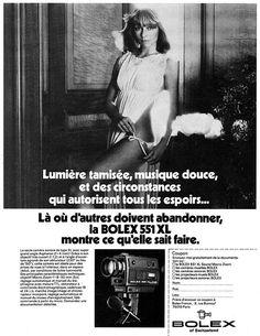 Publicité Bolex 1978