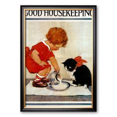 Art.com Good Housekeeping Framed Art Print, Multicolor
