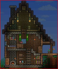 Terraria cool house