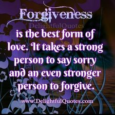 #Forgiveness is often a #lengthy process in #itself, not just a word. Saying sorry is accepting your half of the problem and taking #responsibility for your own #behavior. I know some who just never see the mistakes they make and therefore are hard to #forgive. ~ #DianeDacko