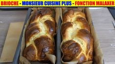 *** Brioche monsieur cuisine plus - Doctor Pin Thermomix Desserts, Cooking Chef, Creme Brulee, Hot Dog Buns, Banana Bread, French Toast, Pork, Nutrition, Breakfast