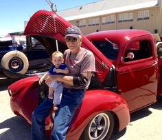 My grandson and future Hot Rodder