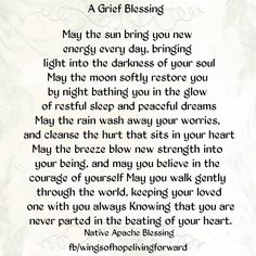 Grief Blessing