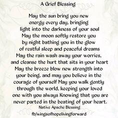Grief Blessing www.funeralcelebrantsydney.com.au