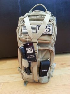 Echo-Sigma's Get Home Bag: Great car kit! Add water purification, whistle and a folding saw.