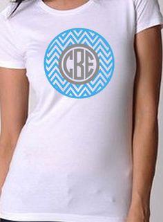 Items similar to Popular 2 Color Chevron and Pretty Monogram Women s eb3524066