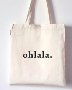 Tote Bag Ohlala / cute & funny