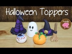 Halloween Cupcake Toppers - YouTube