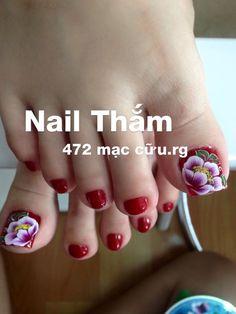 Pedicure Designs, Pedicure Nail Art, Toe Nail Designs, Toe Nail Art, Acrylic Nails, Nails & Co, Hair And Nails, Gel Nails, The Art Of Nails