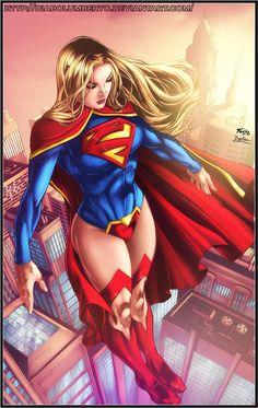 Cool Stuff We Like Here @ CoolPile.com ------- << Original Comment >> ------- Supergirl by ~diabolumberto on deviantART