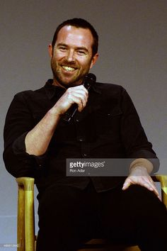 Actor Sullivan Stapleton attends Meet the Actor: Sullivan Stapleton, 'Blindspot' at Apple Store Soho on November 11, 2015 in New York City.