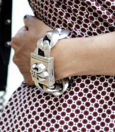 the chunkiest bracelet, eva!