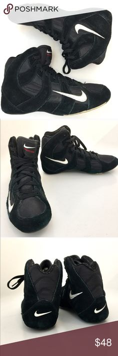 Nike wrestling shoes Speedsweep VGUC - Rare size 9