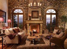 Cozy living room design & decorating ideas (34)