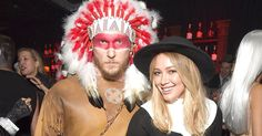 Hilary Duff and new boyfriend Jason Walsh took their relationship public in controversial Halloween costumes on Friday, October 28 — details