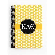 Kappa Alpha Theta Spiral Notebook