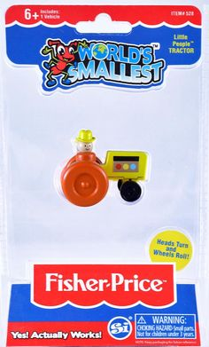 World Smallest Fisher Price Classic Chatter Phone Stack School Bus Ages 8 Toy