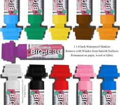 Extra Wide Chalk Paint Marker Zig Posterman Biggie by ImageAbility, $6.78