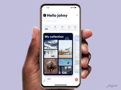 Frame your photos designed by Johny vino™. Connect with them on Dribbble; Web Design, Ui Design Patterns, Class Design, Ui Components, Twitter Design, Mobile App Ui, Ui Design Inspiration, Screen Design, Mobile Design