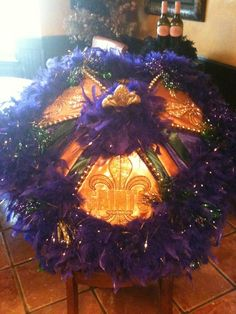 Mardi Gras Second Line Umbrella Customized    by BellaZahara, $100.00