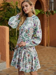 Women's A Line Dresses, Types Of Dresses, Knee Length Dresses, Short Dresses, Short Mini Dress, Tee Dress, Types Of Sleeves, Going Out, Ruff Collar