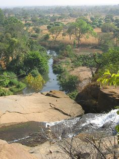Falls at Banfora, Burkina Faso. My Burkina trip was easily the best vacation I have ever taken.