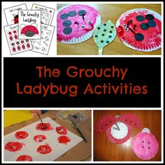 The Very Grouchy Ladybug Activities (from Teaching Mama)