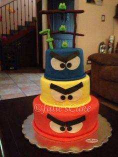Queque de los Angry Birds
