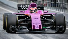 Could Force India's unusual-looking (and not particularly pretty) VJM10 be set for a makeover in the near future? Reports from German publication Auto Bild suggest Force India's 2017 Formula 1 machine could be going pink. It's not a colour we often see on F1 cars, not for a while anyway. But it seems a pink