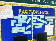 Great idea for student generated bulletin board use with inquiry unit? Have kids move/interact