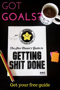 Free printable workbook for setting goals