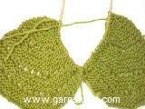 Gebreide DROPS trui in ribbelst met waaierpatroon van Delight. Maat: S - XXXL. Gratis patronen van DROPS Design.