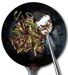 Stir-Fried Pork with Leeks (Cong Bao Rou Si)