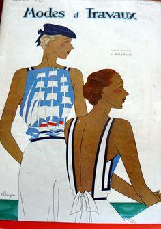 Wonderful (VTG 1930s PARIS Pattern Catalog Book MODES et TRAVAUX)
