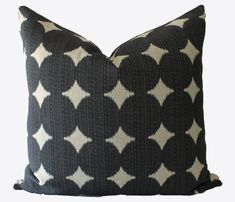 Decorative Designer Dwell Studio Black Geometric by MakingFabulous