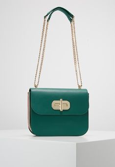 6261c2f2a60c Tommy Hilfiger TURNLOCK CROSSOVER - Across body bag - green - Zalando.co.uk