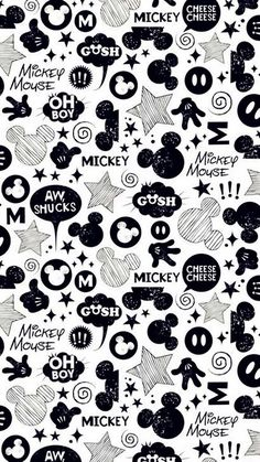 Mickey Mouse Wallpapers Black And White Backgrounds