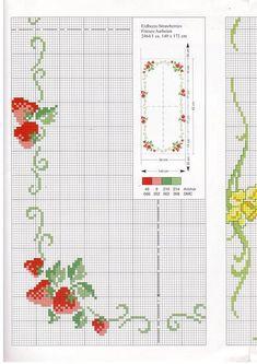 punto de cruz frutas   Aprender manualidades es facilisimo.com