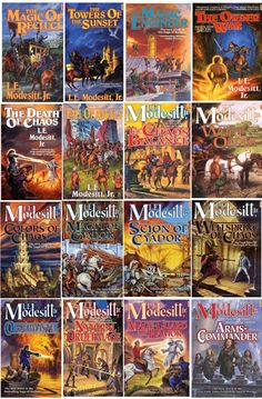 The Saga of Recluce by L. E. Modesitt, Jr  One of my favorite authors and a great series of books!