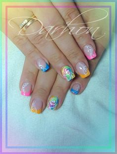 summer by Darhon - Nail Art Gallery nailartgallery.nailsmag.com by Nails Magazine www.nailsmag.com #nailart