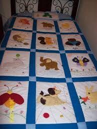 Resultado de imagen para tendidos de cama infantil Quilt Baby, Baby Patchwork Quilt, Baby Quilt Patterns, Paper Piecing Patterns, Boy Quilts, Applique Quilts, Quilting Projects, Sewing Projects, Elephant Quilt