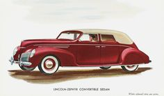 1939 Lincoln-Zephyr Convertible Sedan | Flickr - Photo Sharing!